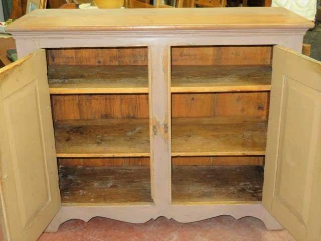 Meuble bahut, buffet en pin 2