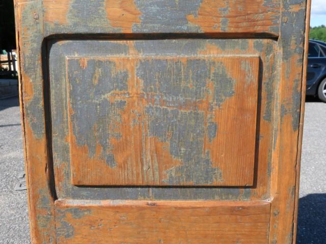 Armoire bahut en pin, chevilles de bois 6