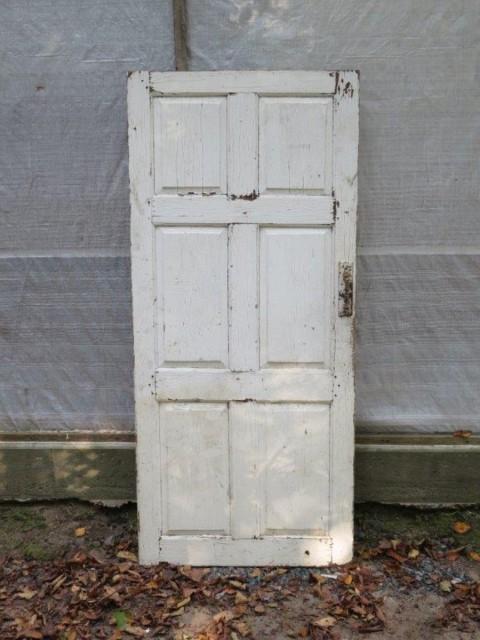 Très vieille porte de maison, 30.5 pouces x 68.5 1
