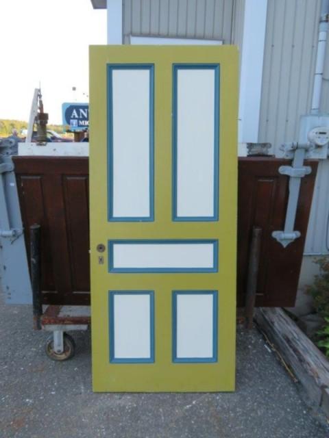 Porte de maison, poignée disponible, 34 pouces x 81 1