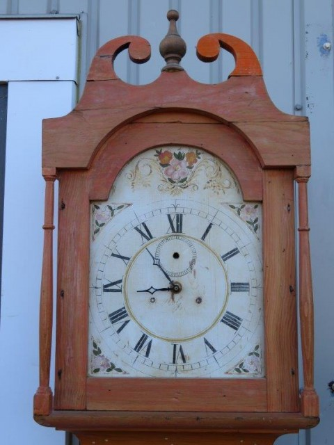 Horloge grand-père, mécanisme manquant 2