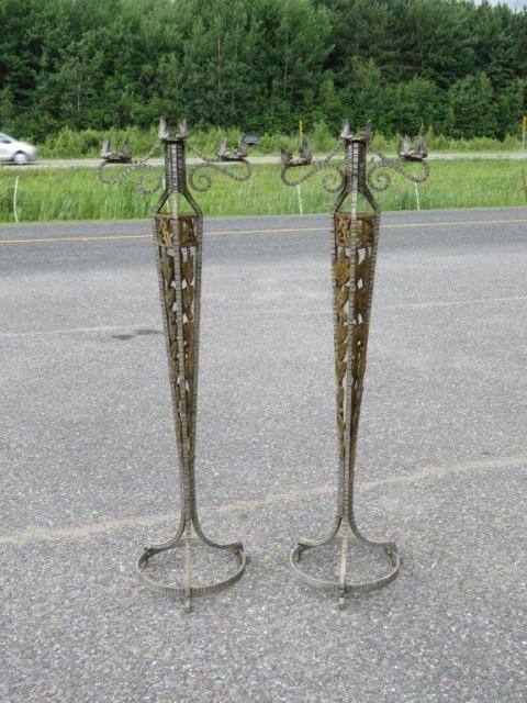 Magnifiques chandeliers  1