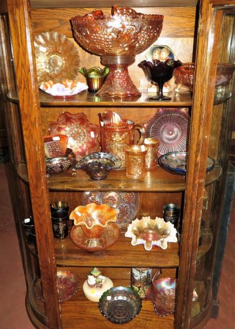 Vaisselle de collection, verre Carnaval 1