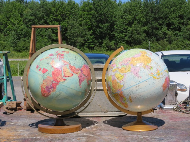 Globes terrestre 1