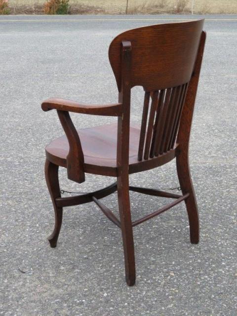 Fauteuil en chêne, chaise 3
