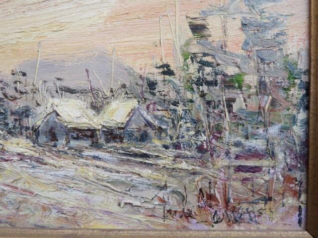 Peinture, tableau, huile sur toile sign?e 6