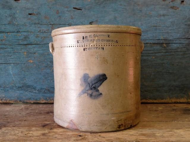 Jarre, tinette de marchand, St-Gervais 1