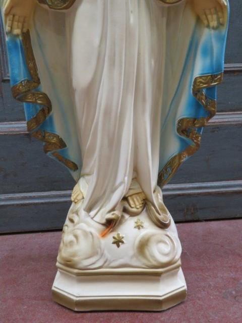 Statue religieuse en plâtre 5