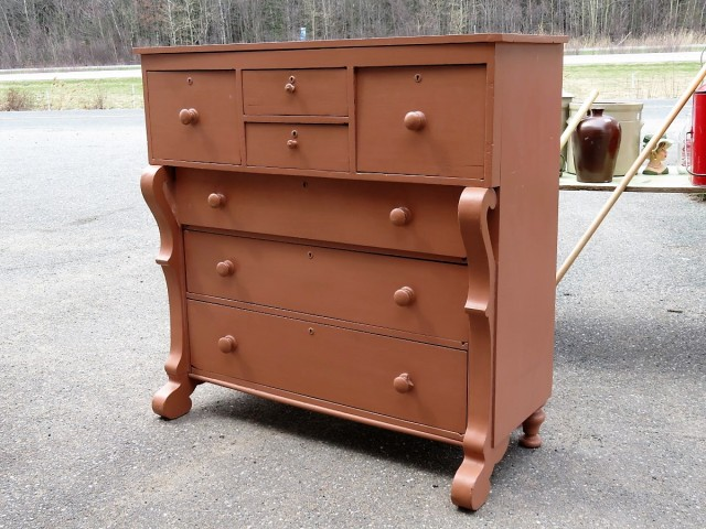 Bonnet chestof drawers 1