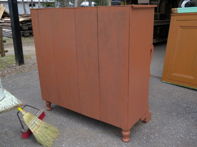 Bonnet chestof drawers 6