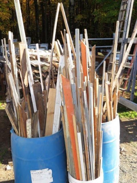 Lot de moulures en bois 1