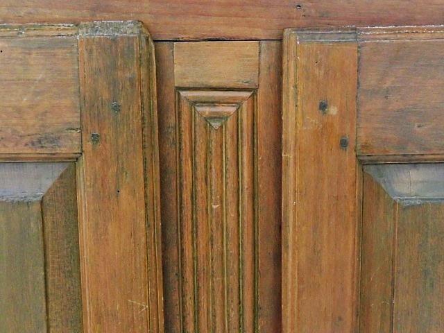 Armoire 8 panneaux soulevés, clous forgés 3