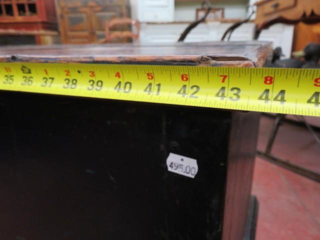 Coffre assemblé à poteaux et clous carrés 7