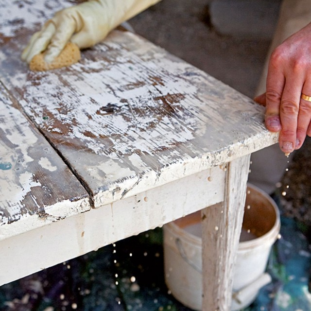 How to strip antique furniture