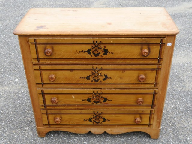 Commode, bureau en pin 2
