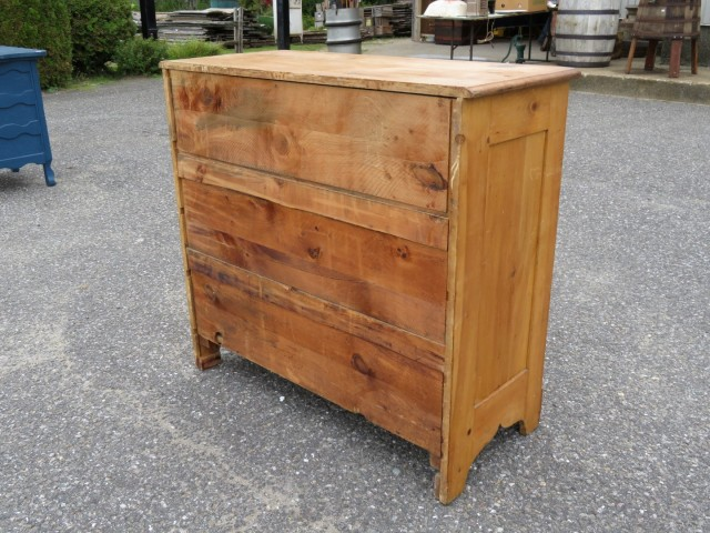 Commode, bureau en pin 3