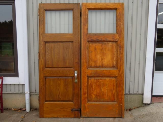 Ensemble de portes vitrées 1