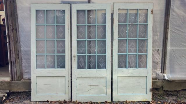 Anciennes portes vitrées 1