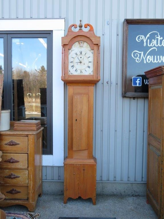 Horloge grand père mécanisme manquant