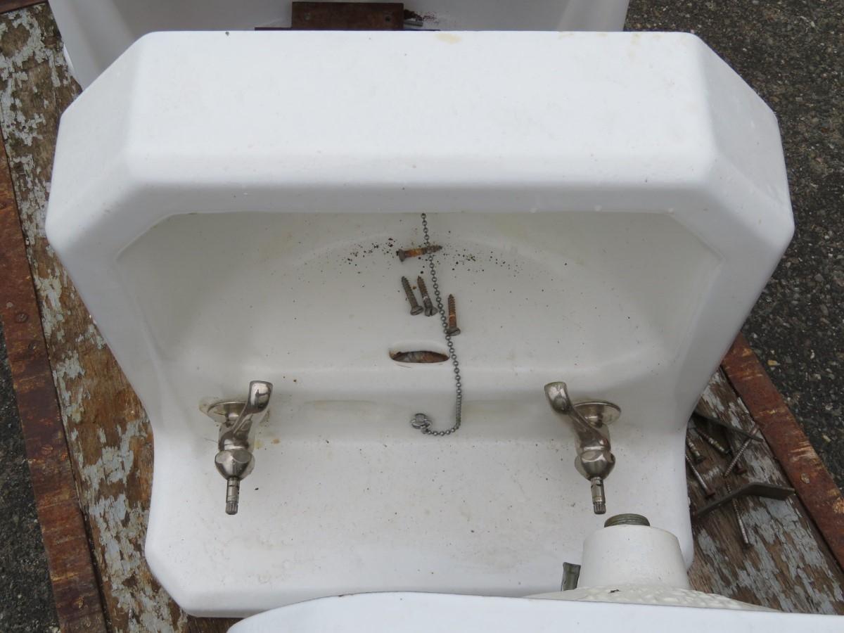 Lavabos, éviers en fonte et porcelaine, sink 3