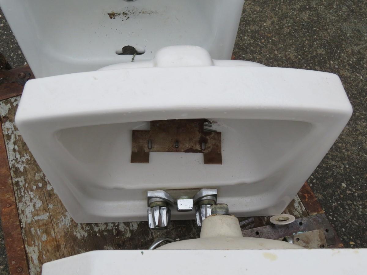 Lavabos, éviers en fonte et porcelaine, sink 2