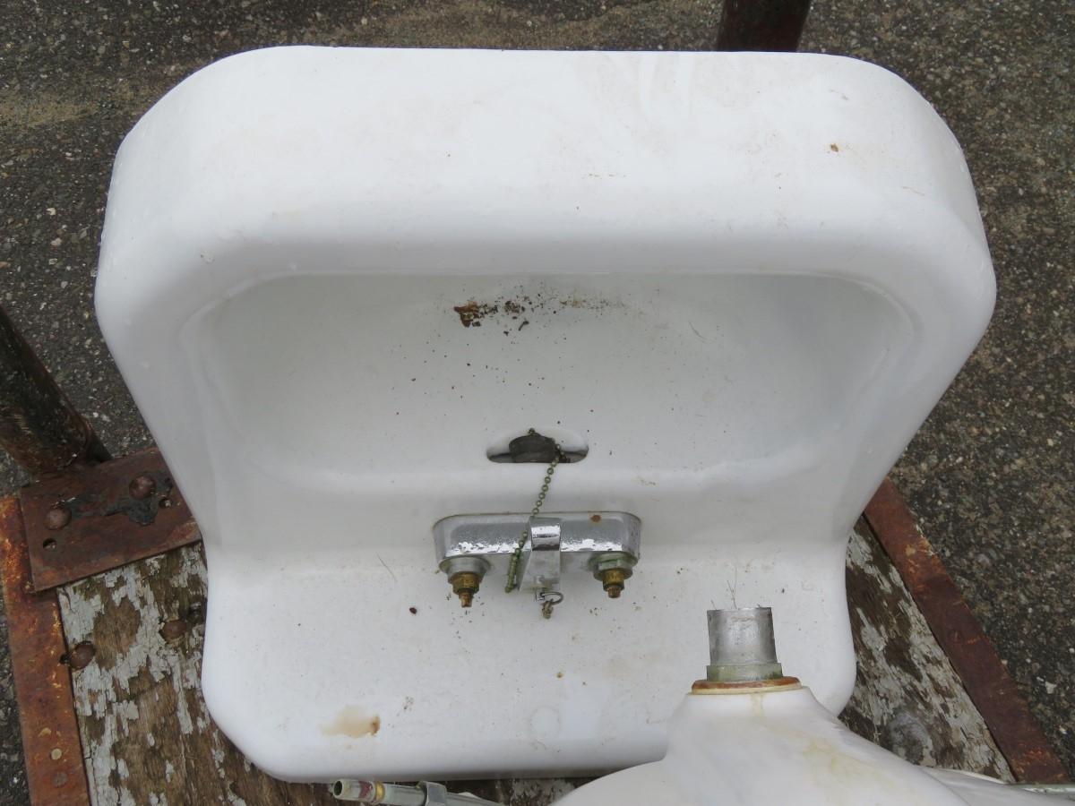 Lavabos, éviers en fonte et porcelaine, sink 4