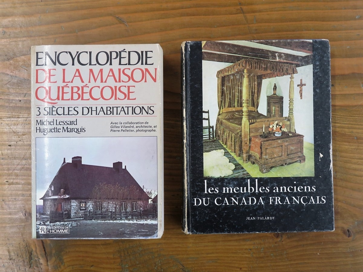 Old Books About Antique Houses And Furnitures