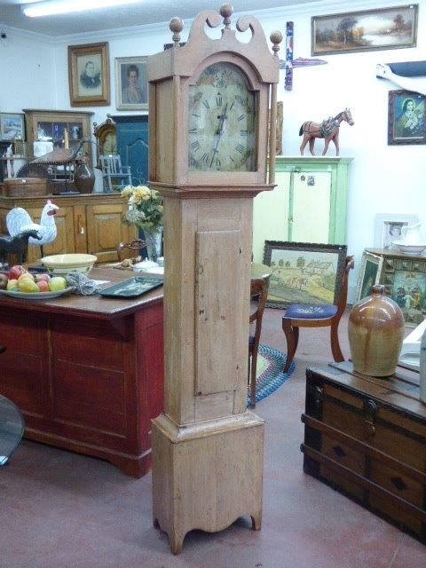 Antique grandfather clock 1