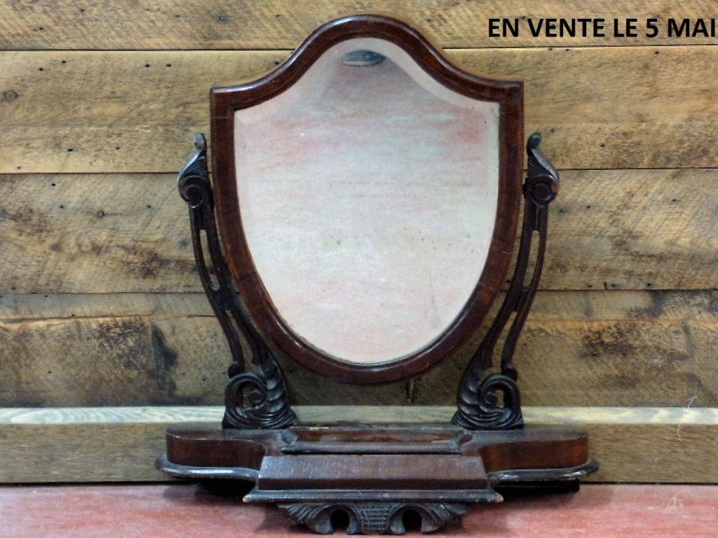 Miroir pivotant de style victorien for Miroir pivotant