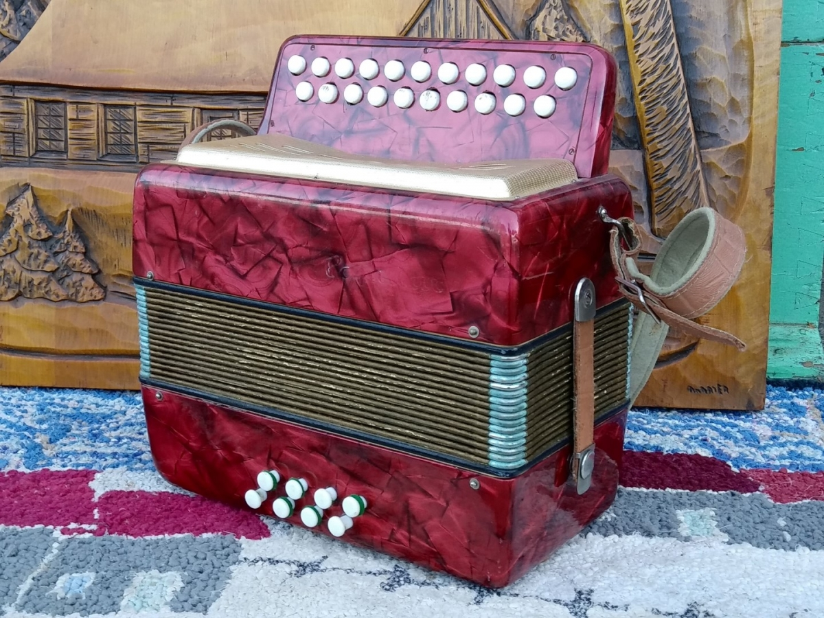 Accordéon, instrument de musique 1