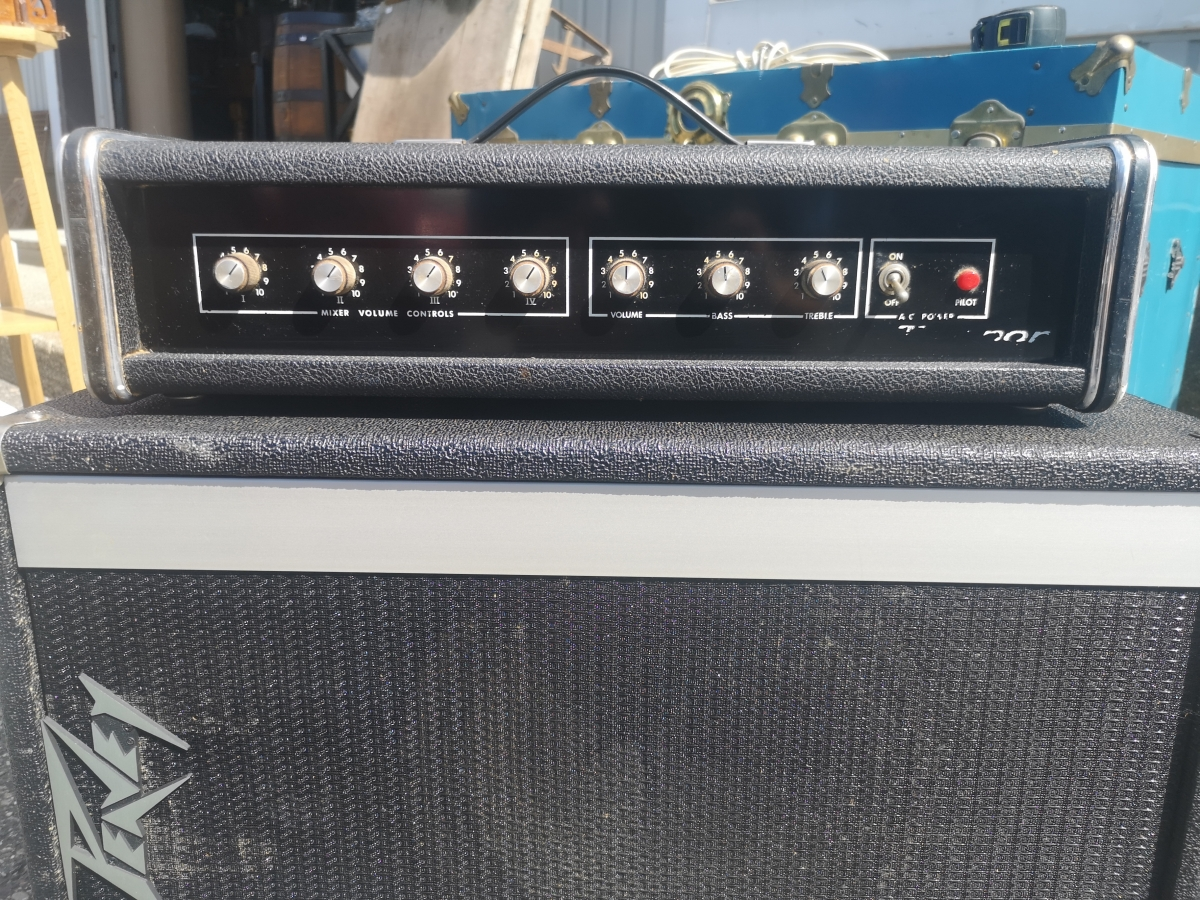 Peavey amplifier (SOLD) and speaker 2
