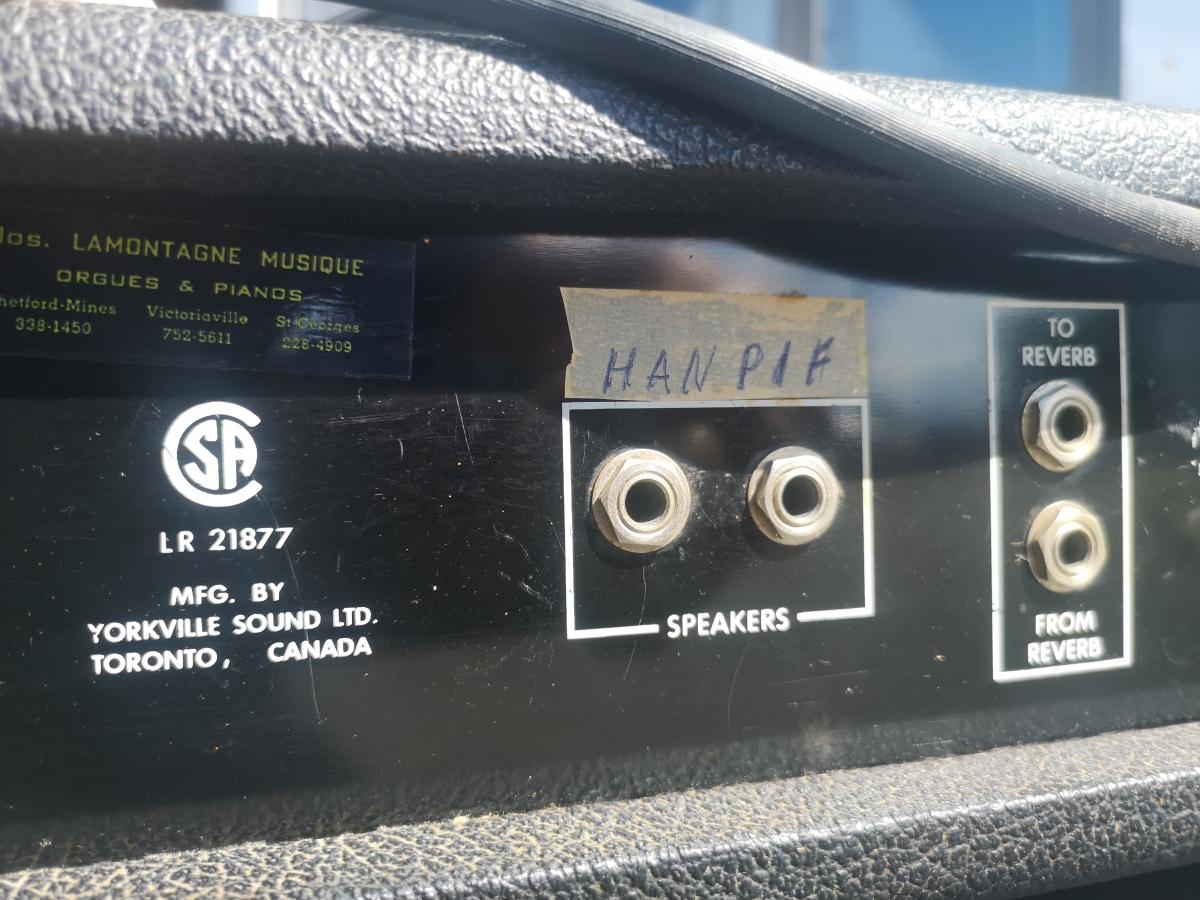 Peavey amplifier (SOLD) and speaker 6