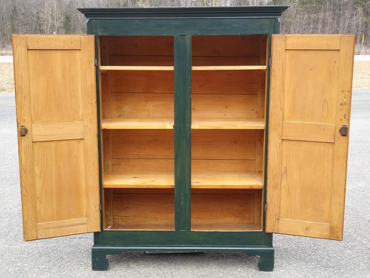 Pine antique armoire, cupbard, has been restored 2