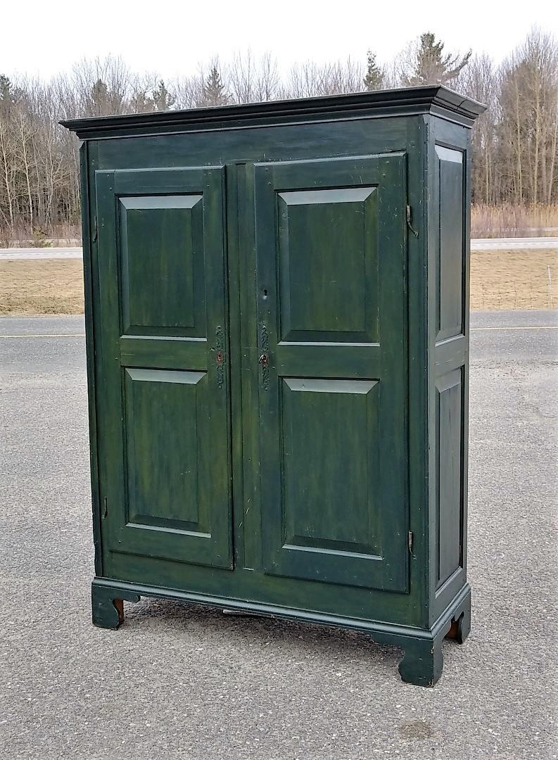 Pine antique armoire, cupbard, has been restored 1