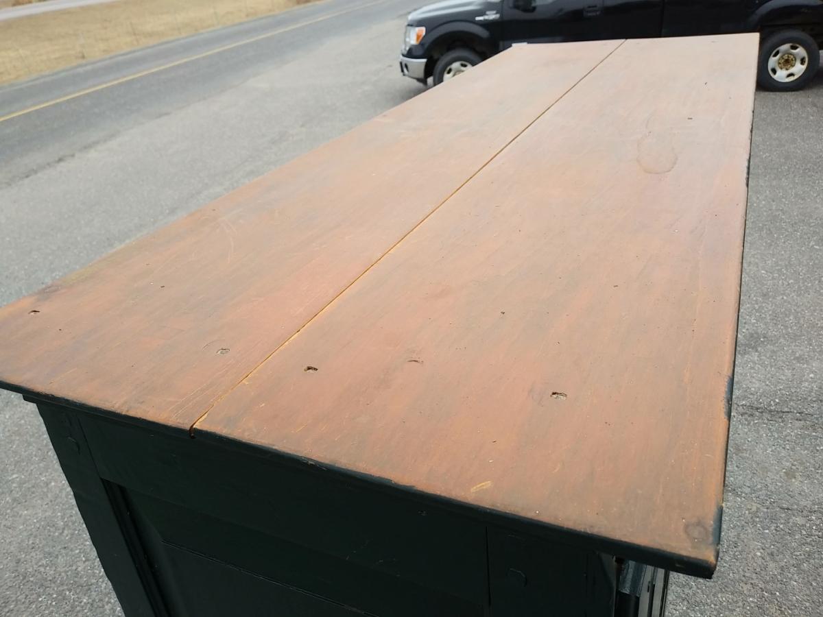 Pine antique armoire, cupbard, has been restored 8