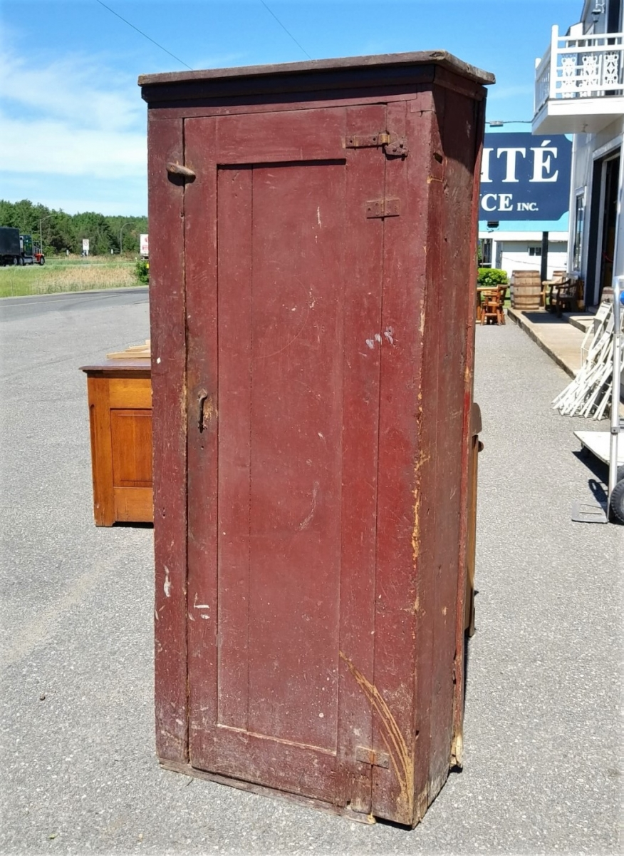 Country pine jam cupboard, armoire 1