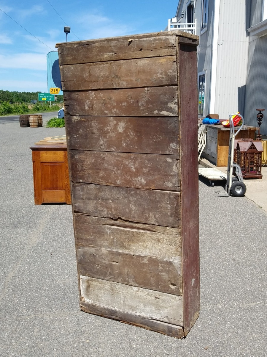 Country pine jam cupboard, armoire 9