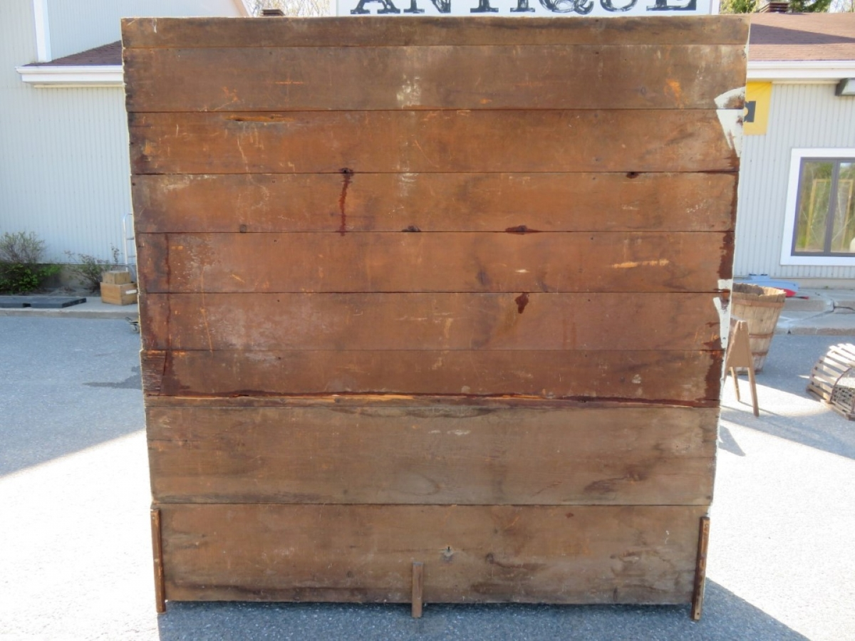 Pine open-dish dresser, forged nails, armoire 5