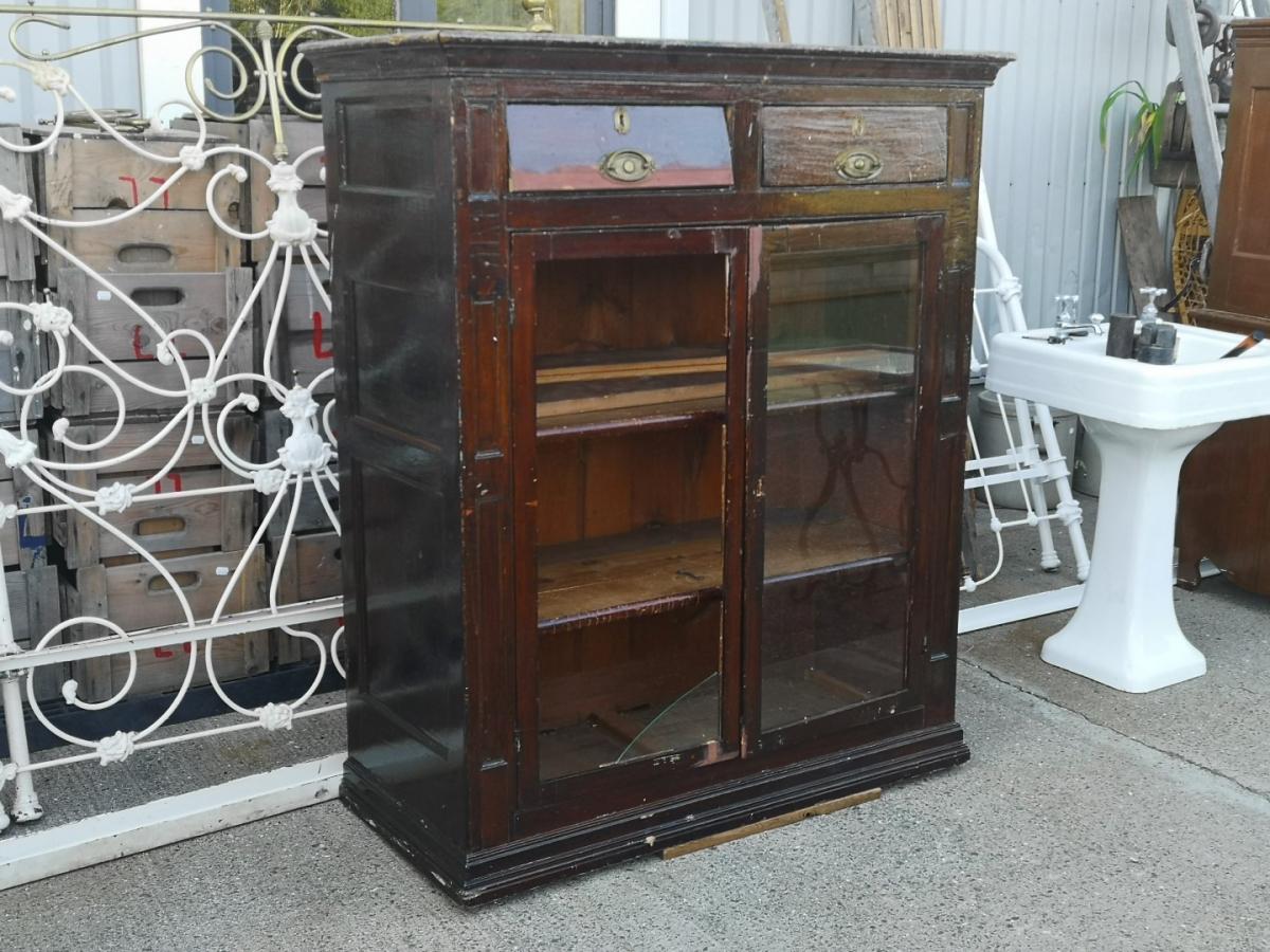 Lotbinière armoire-buffet, forged nails 1