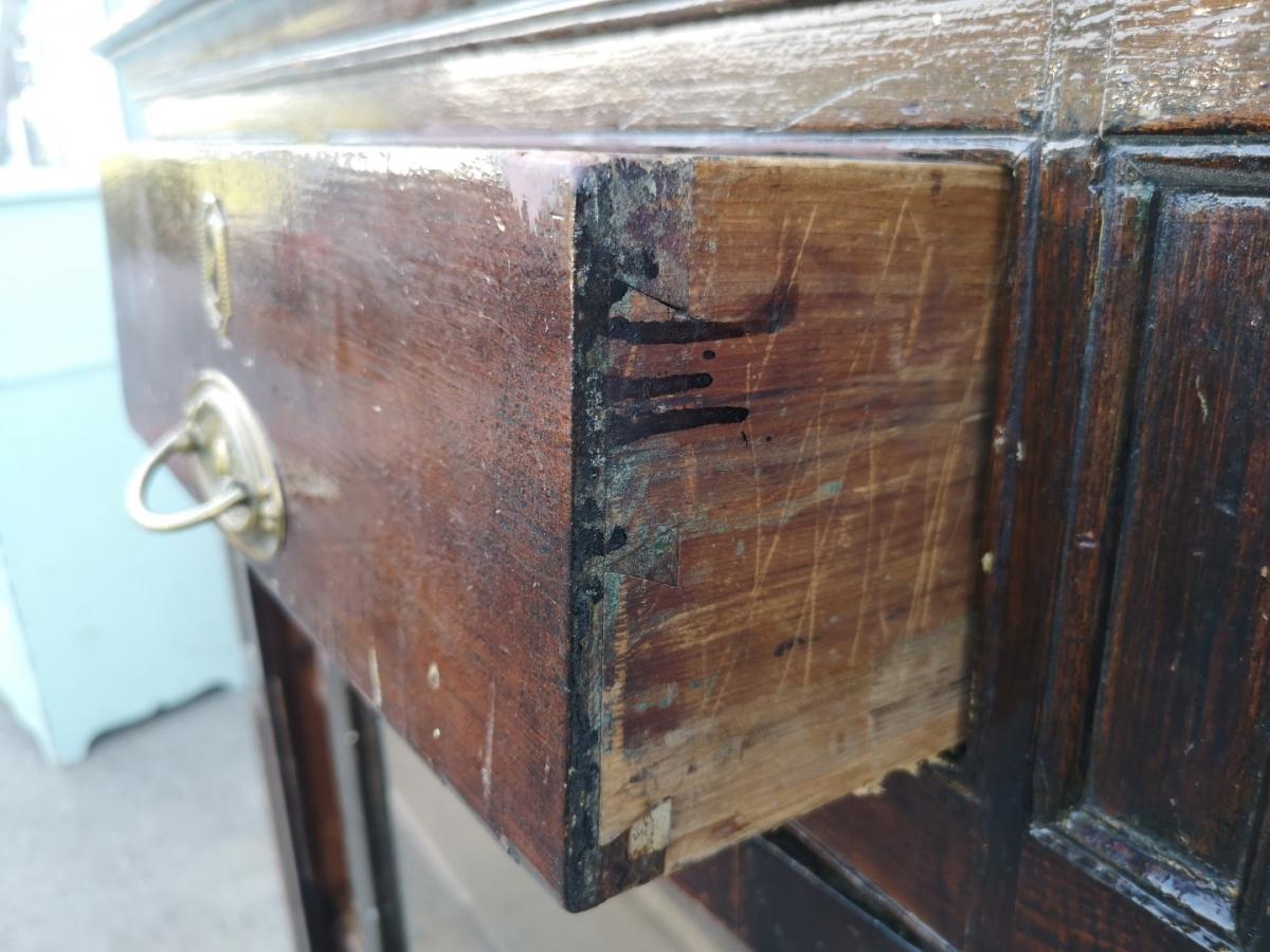 Lotbinière armoire-buffet, forged nails 5