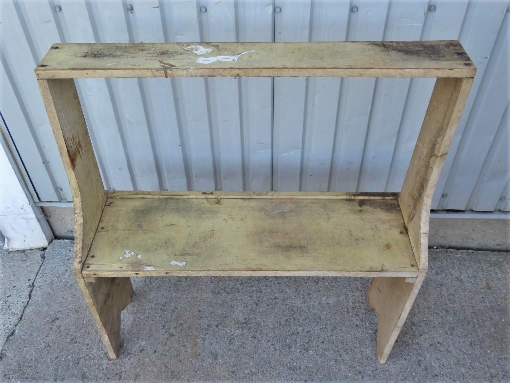 Bucket bench, original color, Early 20th century 7