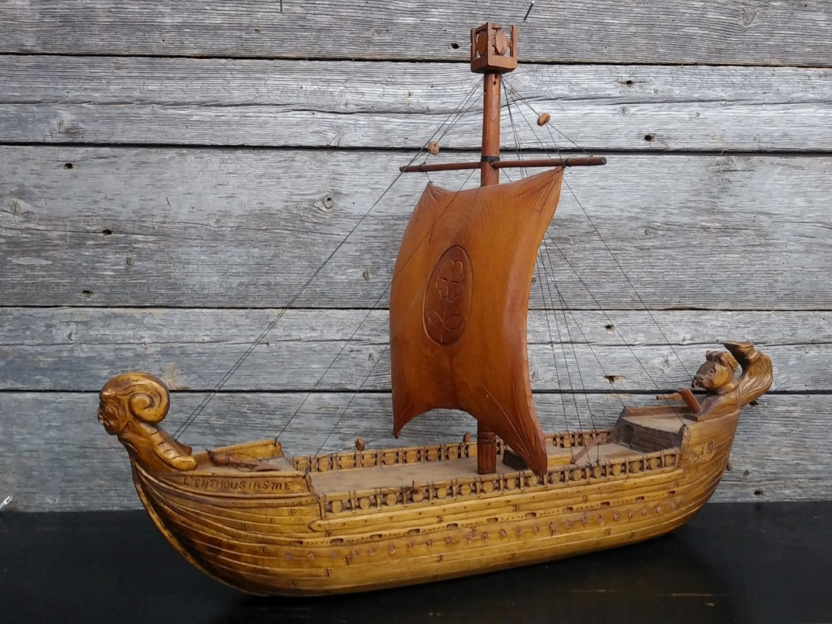Miniature boat 1