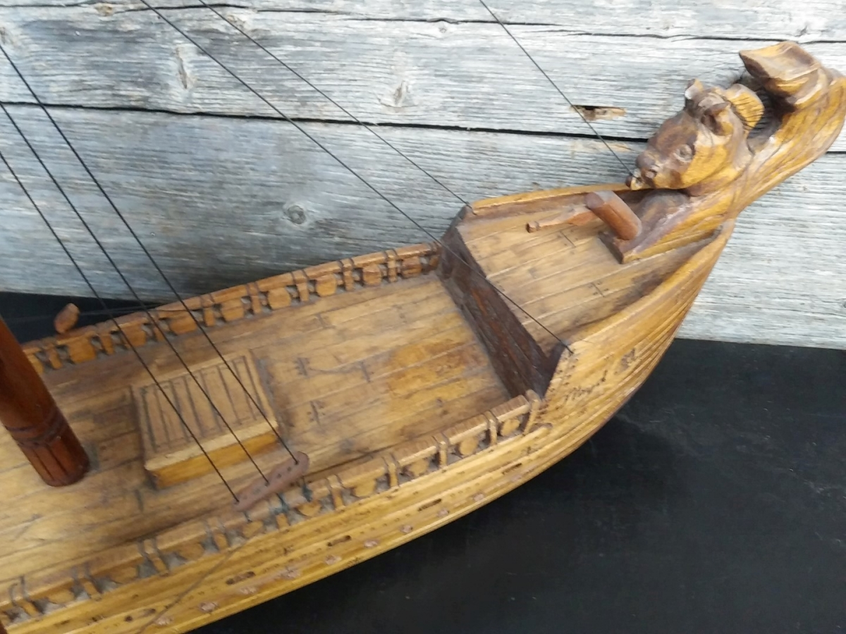 Miniature boat 7