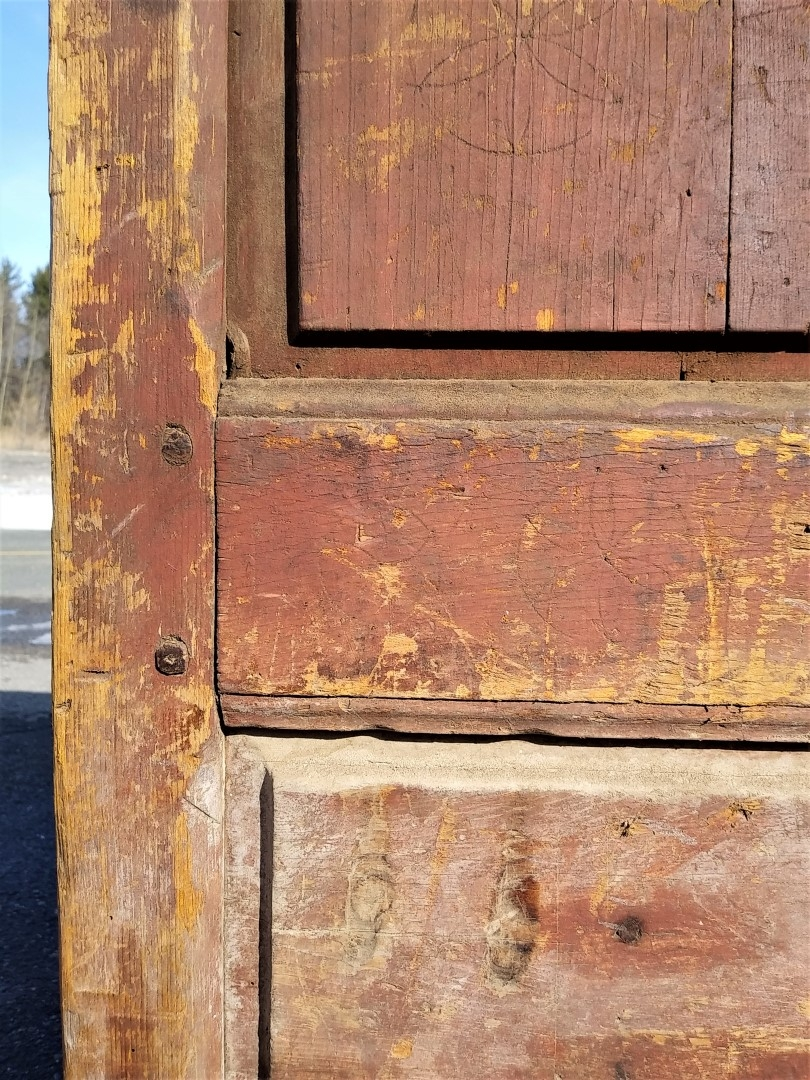Very old armoire, doors missing, 18 century 2