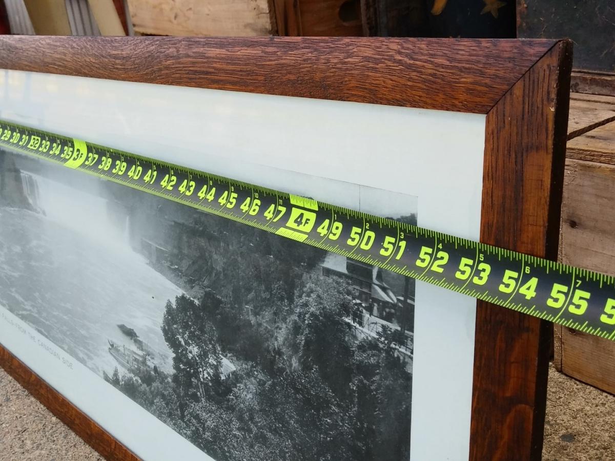 Cadre avec photo panoramique des chutes Niagara, imprimé 2