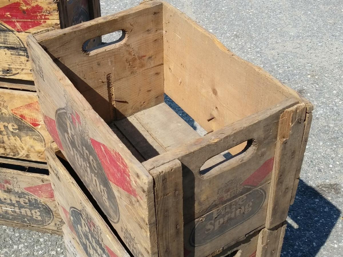 Caisses, boîtes à liqueur, Pure Spring 2