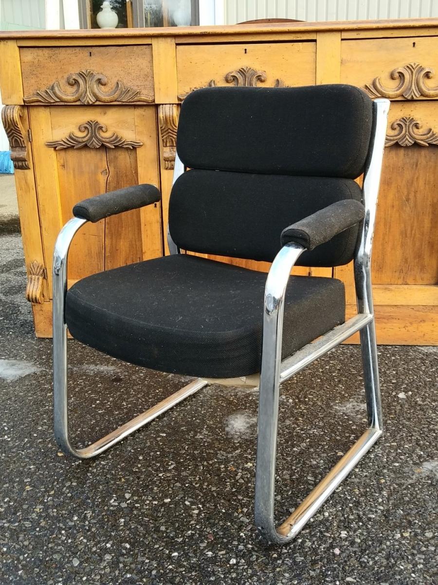 Chaise, fauteuil vintage 1