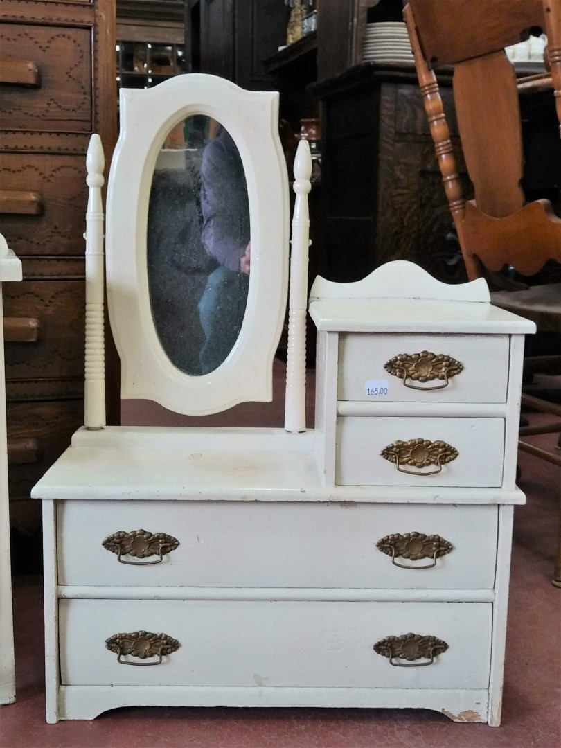 Miniature commode and washstand 1