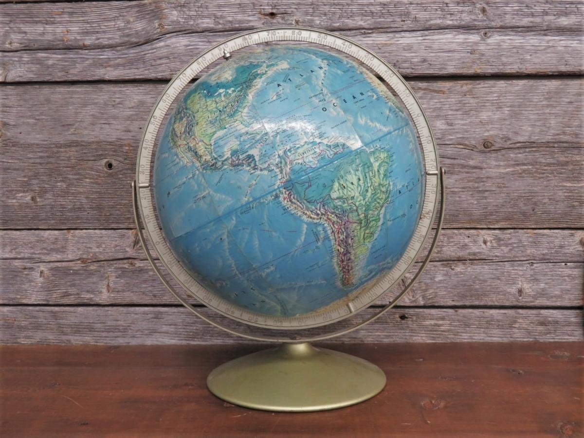 Globe terrestre 1