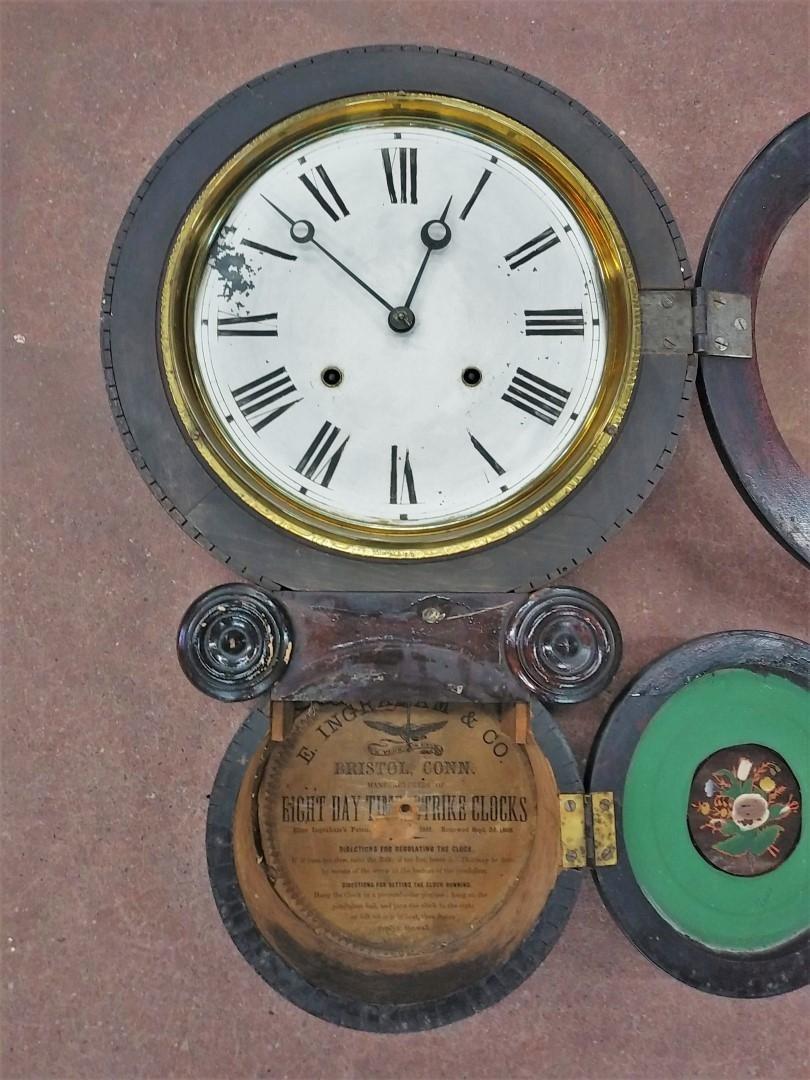 Horloge murale E. Ingraham 2
